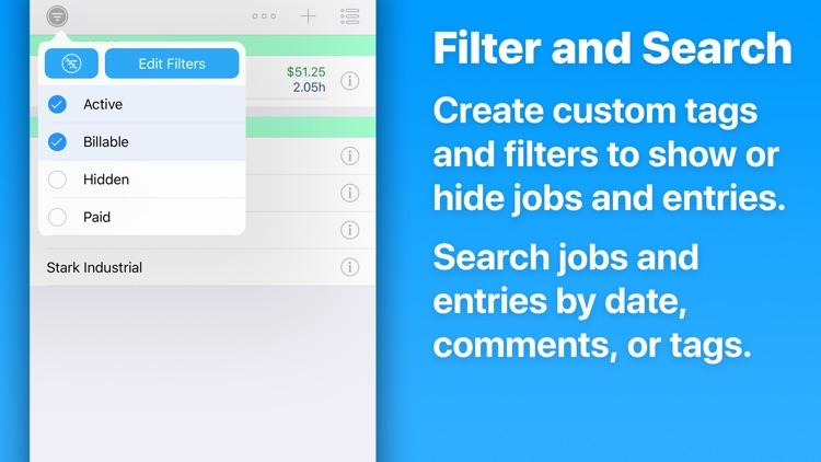 HoursTracker: Hours & Pay screenshot-3