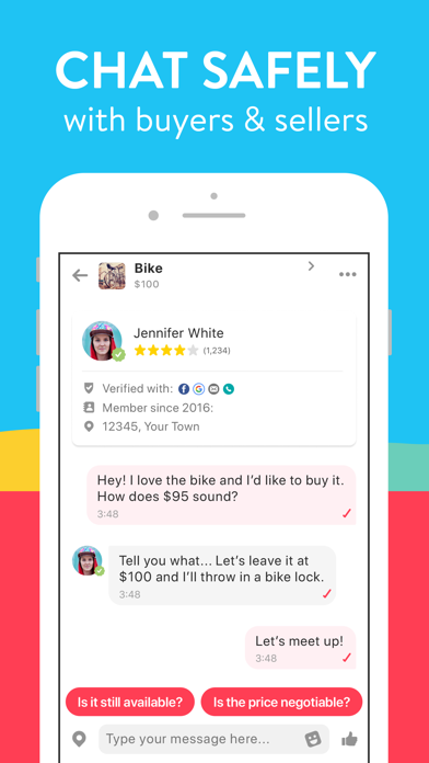 messages.download letgo: Sell & Buy Used Stuff software