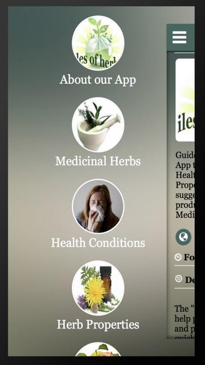 iles of herbs