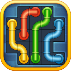 Activities of Line Puzzle: Pipe Art