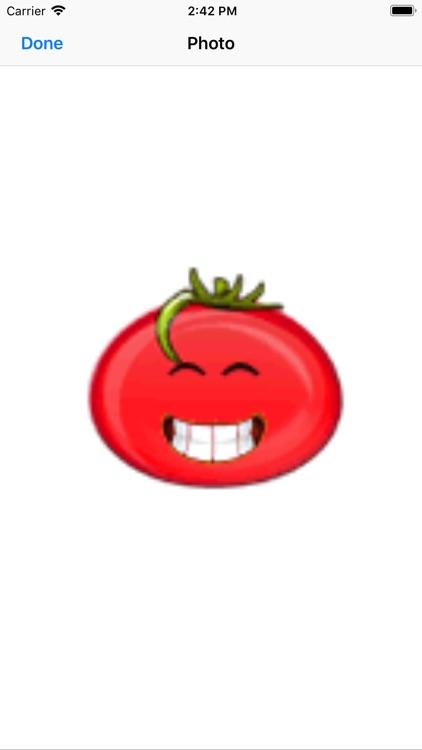 可爱番茄贴纸-816vip screenshot-5