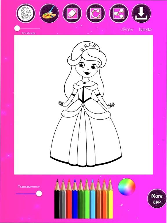 princess coloring drawing book app price drops princess coloring drawing book app