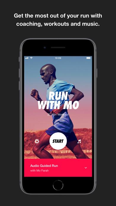 Nike Run Club screenshot one