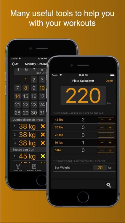 Gym Horn: Weight Lifting Log screenshot-6