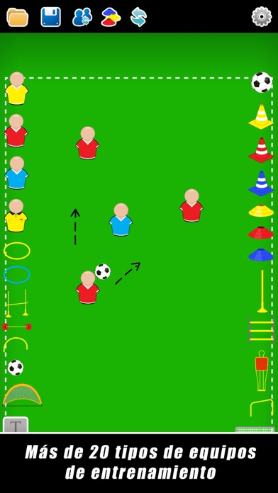 Screenshot for Pizarra Táctica: Fútbol++ in Argentina App Store