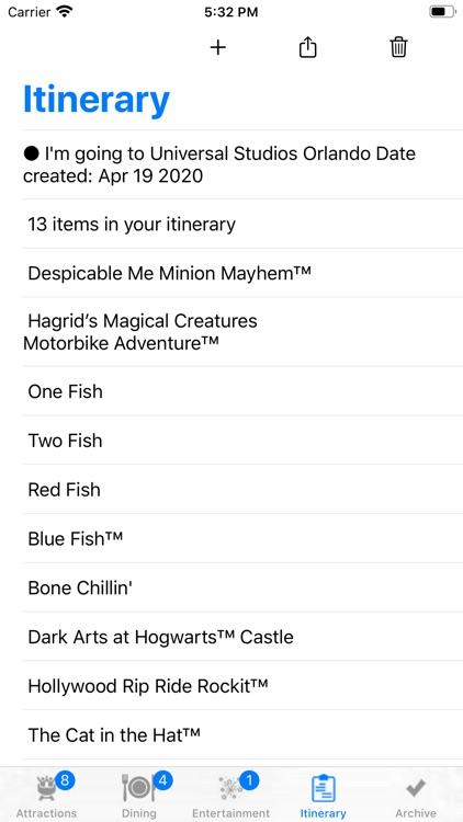 Theme Park Checklist: Orlando screenshot-3