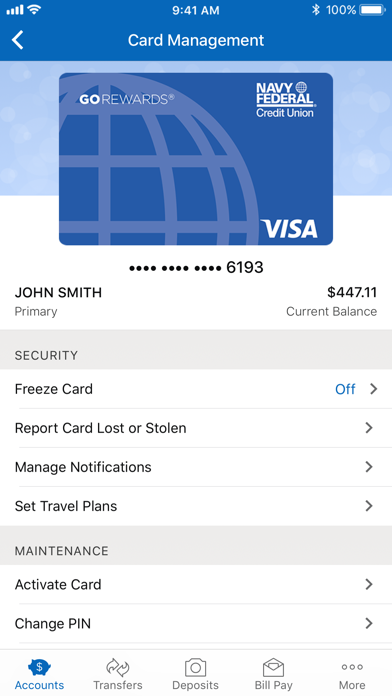 Screenshot for Navy Federal Credit Union in United States App Store