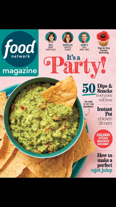 Food Network Magazine US Screenshot