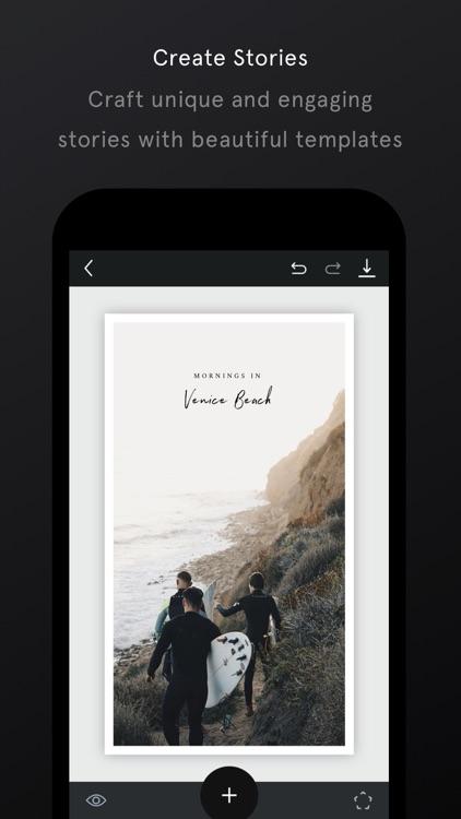 Unfold — Create Stories screenshot-5