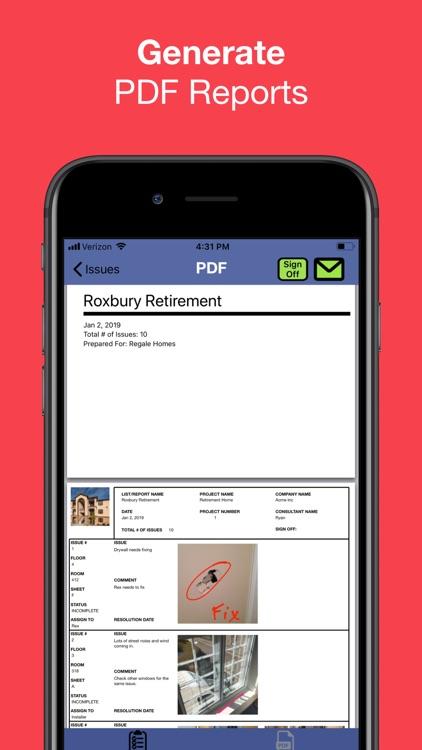 Punch List & Site Audit Report screenshot-3
