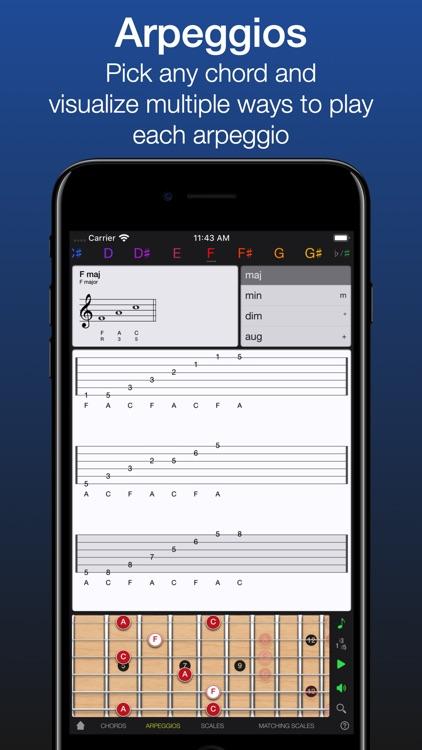 Guitar Gravitas: Chords Scales screenshot-4