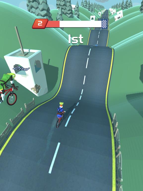Игра Горные велосипеды