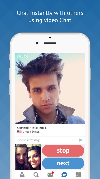 Fruzo– Video Chat & Dating App screenshot-3