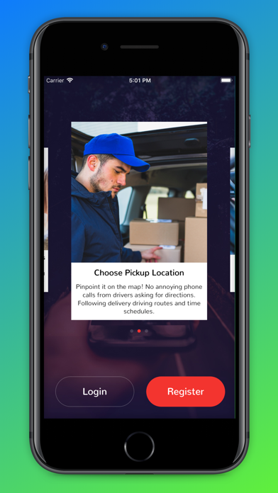 Screenshot for Urber Delivery in Austria App Store
