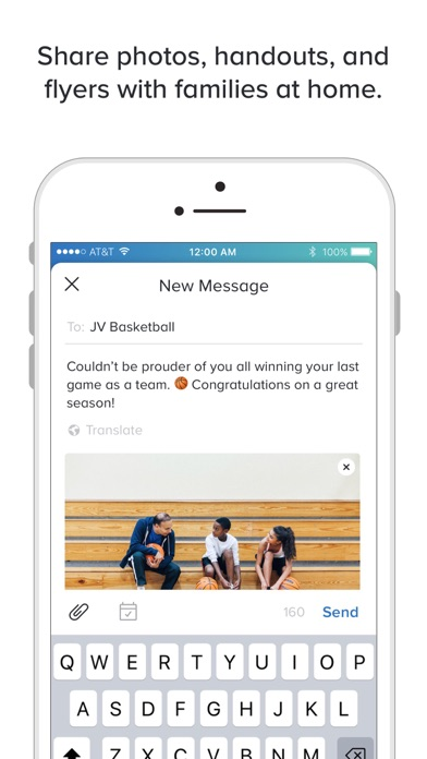 Screenshot of Remind: School Communication App