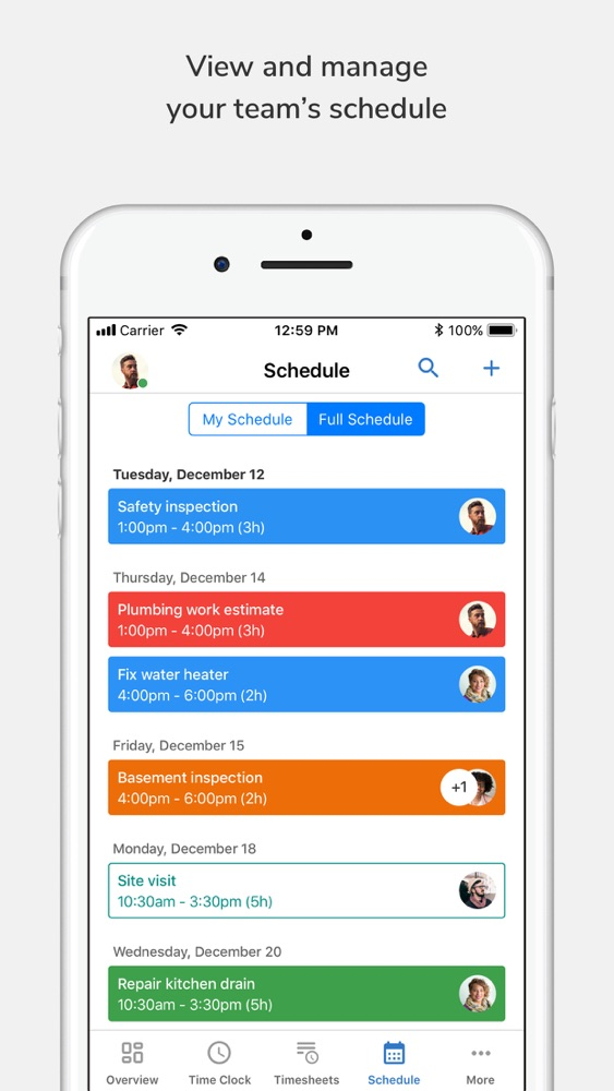 TSheets Time Tracker App for iPhone - Free Download TSheets