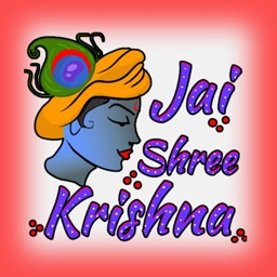 Jay Shree Krishna Stickers
