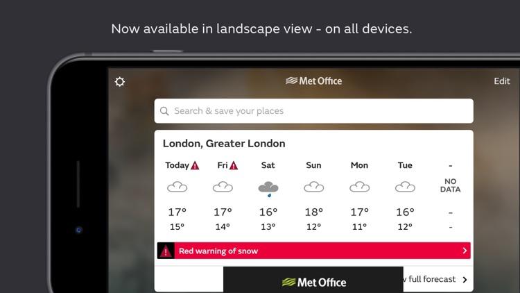 Met Office Weather Forecast screenshot-5