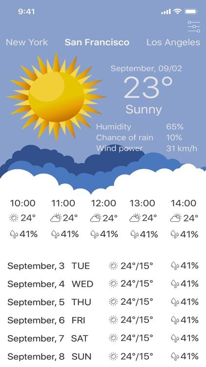My Weather - Forecast App screenshot-4