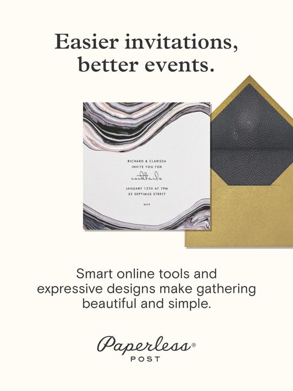 Paperless Post: Invitations and eCards screenshot