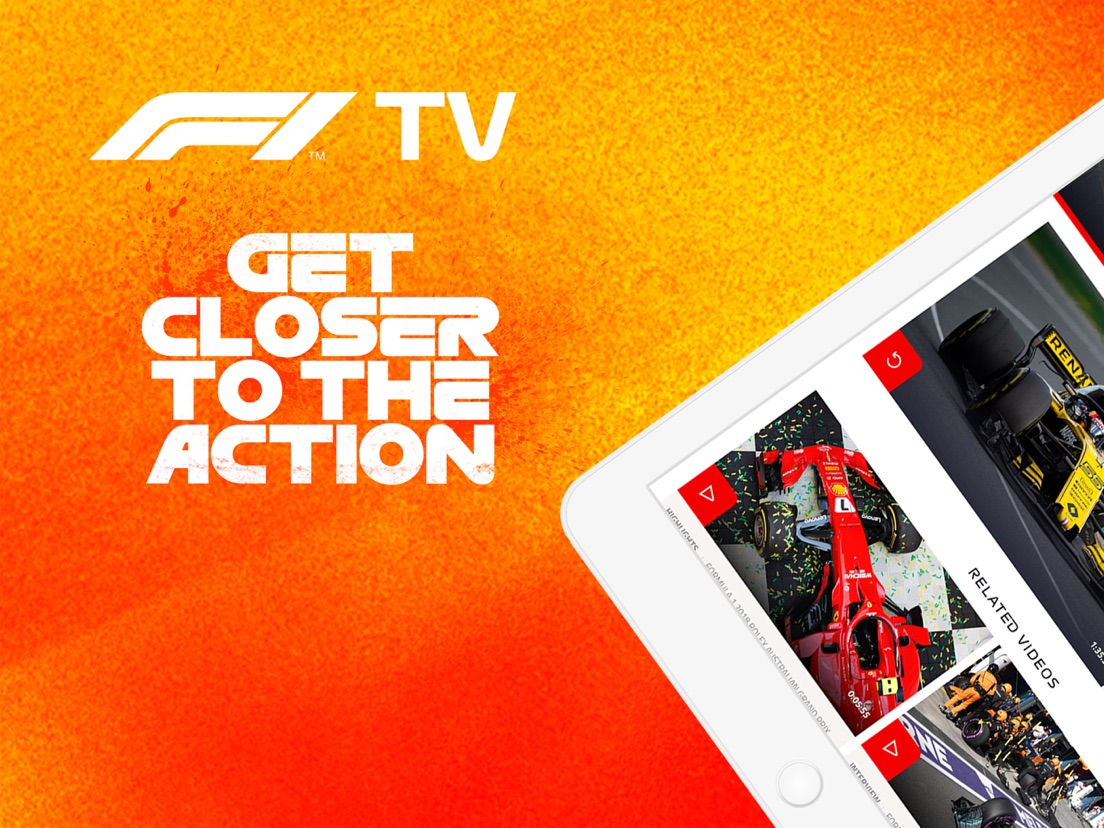 F1 TV - App voor iPhone, iPad en iPod touch - AppWereld