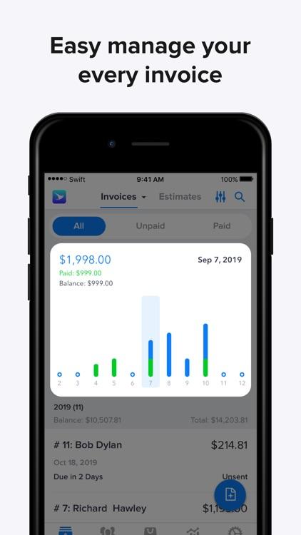 Swift Invoice - Invoice Maker screenshot-7