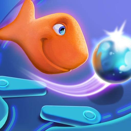 Goldfish Pinball Blast iOS App