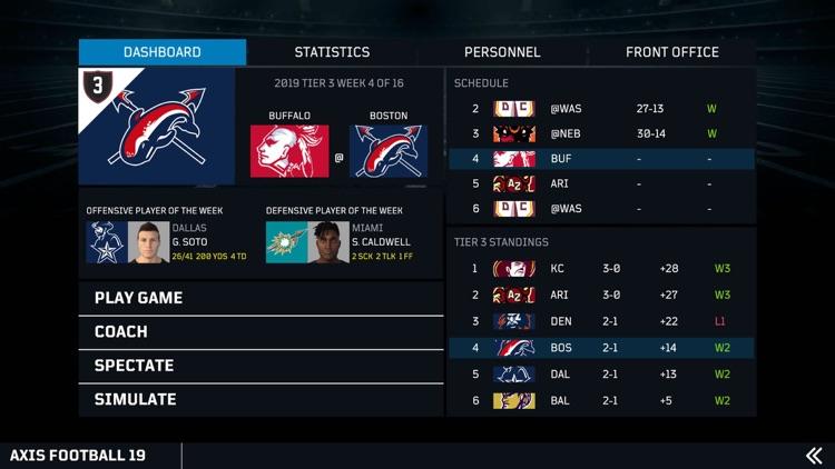 Axis Football screenshot-3
