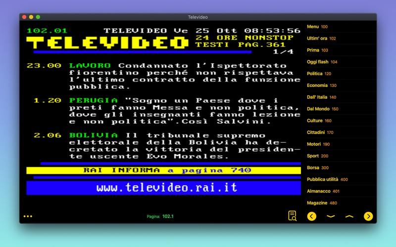Televideo Italia for Mac
