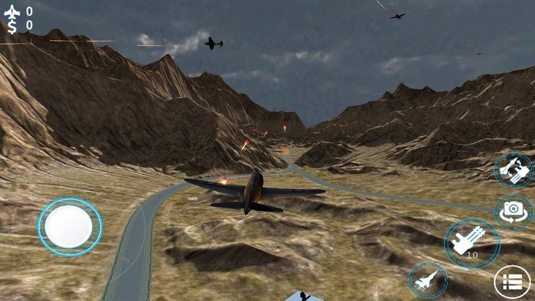 Jet Fighter Air Strike 3d screenshot-5