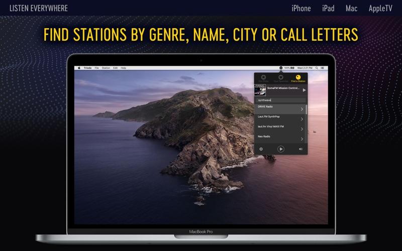 Triode - Internet Radio for Mac
