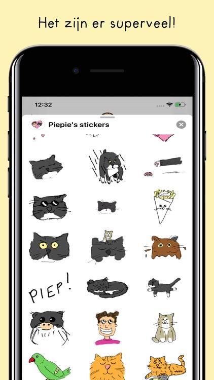 Piepie's stickers!