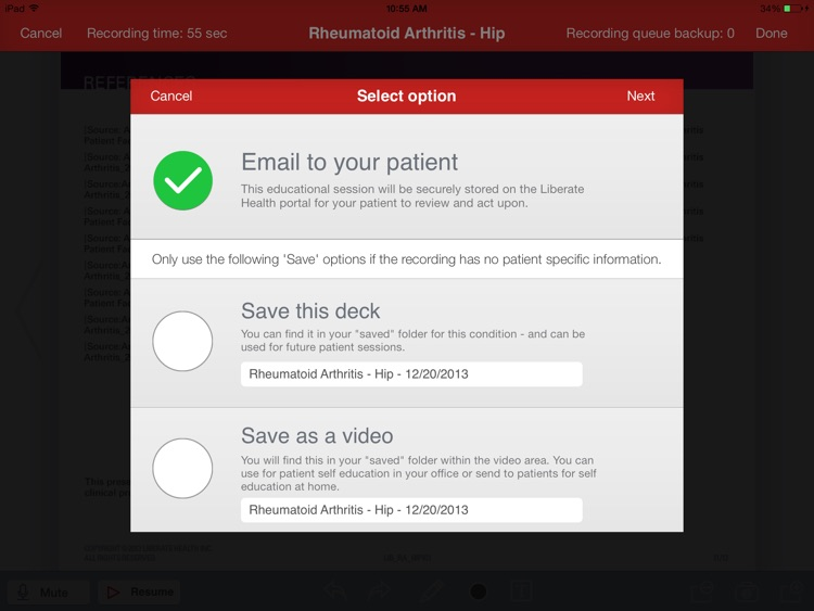 Liberate Health screenshot-4