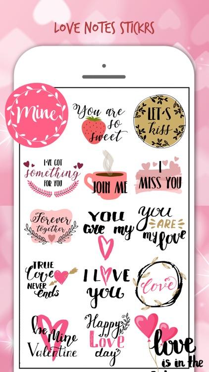 Happy Valentine's Stickers!