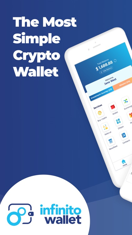 Infinito Wallet - Crypto Safe screenshot-0
