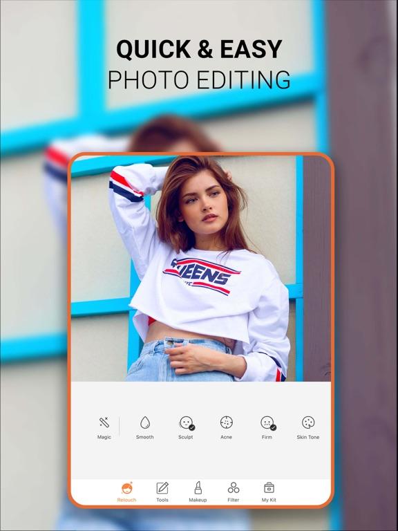 iPad Image of AirBrush - Best Photo Editor