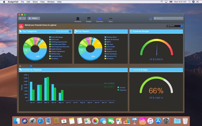 BudgetTail Light for Mac