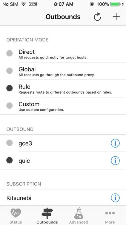 Kitsunebi - Proxy Utility
