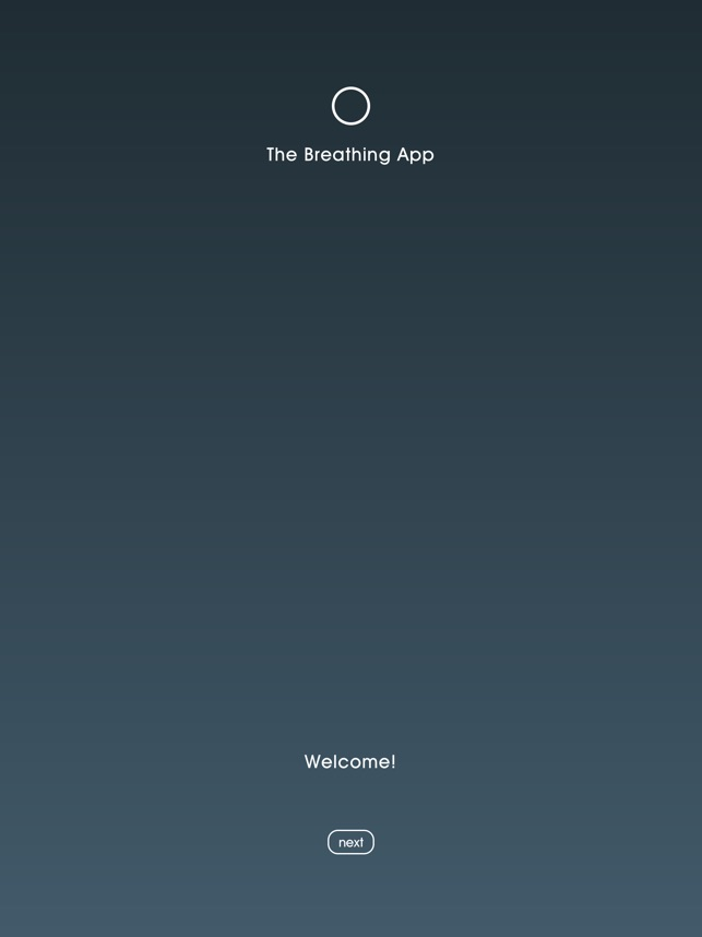 The Breathing App on the App Store
