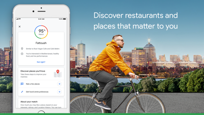 Google Maps - Transit & Food Screenshot on iOS