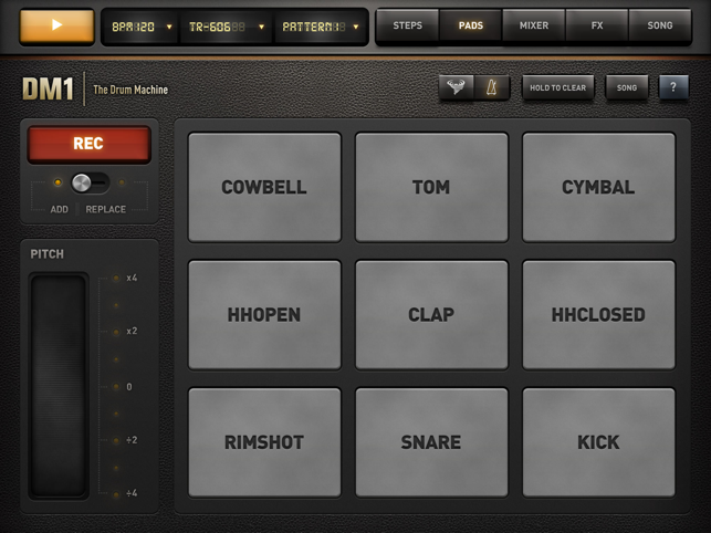 ‎DM1 - The Drum Machine Screenshot