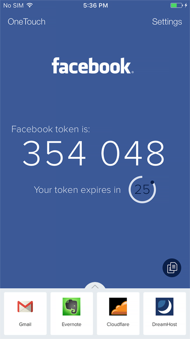 Screenshot for Authy in Denmark App Store