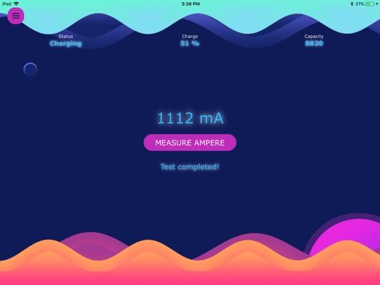 Ampere Battery Charging Check Screenshots