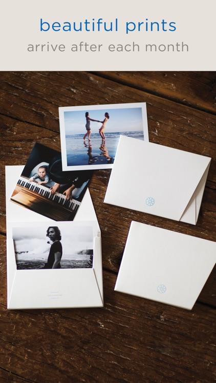 timeshel- monthly photo prints