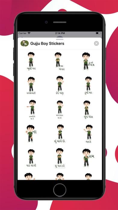 Gujju Boy Stickers screenshot 1