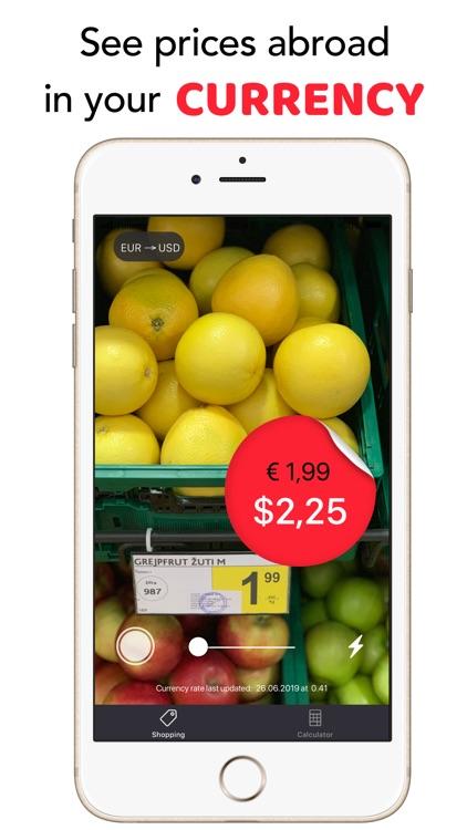 Travel Price AR screenshot-0