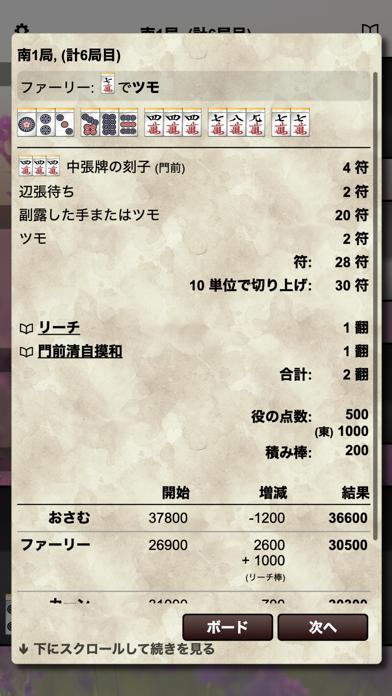 ケモノ麻雀 / Kemono Mahjong screenshot1