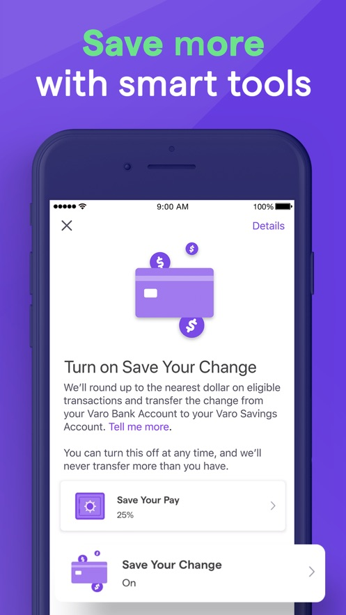 Varo: No Fee Mobile Banking】版本记录- iOS App版本更新记录