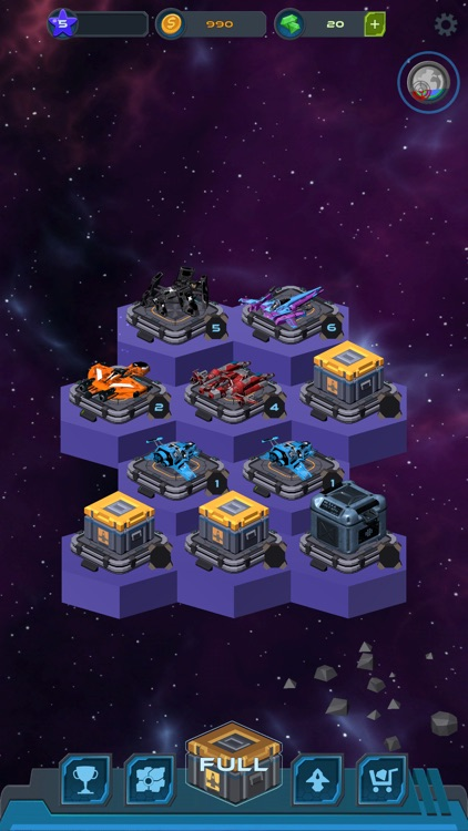 Space Merge Idle 3D screenshot-3