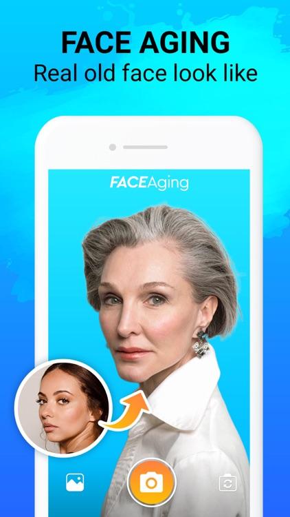 Face Story: Aging Camera App screenshot-0